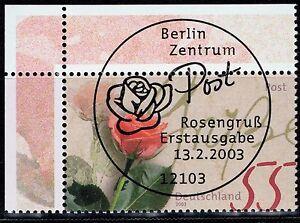 BRD Mi.- Nr. 2317 Ecke oben links mit Ersttagssonderstempel - Rodgau, Deutschland - BRD Mi.- Nr. 2317 Ecke oben links mit Ersttagssonderstempel - Rodgau, Deutschland
