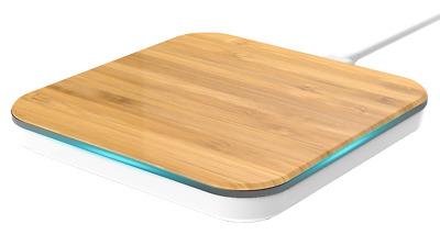 qi ladestation ladepad induktion wireless charger iphone samsung 7 5 w natur 02 ebay. Black Bedroom Furniture Sets. Home Design Ideas