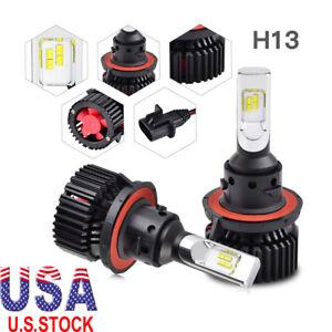 Details About For Jeep Wrangler Jk 2018 H13 9008 Led Headlight Hi Low Beam Conversion Bulb Kit