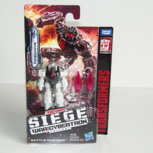 WAR for Cybertron BATTLE MASTERS ~ CANNELLO ~ firedrive ~ lionizer Transformers