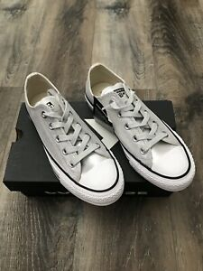 Star Silver Canvas LOW TOP Sneaker Size