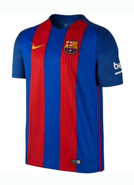 7bbf49c86c0 Nike FC Barcelona 2016-17 Home Soccer Jersey Youth Large 777029-481 Blue NEW