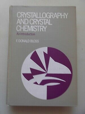 Neue Mode Crystallography And Crystal Chemistry An Introduction (- Kristallographie Krista GüNstige VerkäUfe