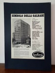 Pubblicita-originale-Galbani-rifilatura-da-rivista-in-passepartout