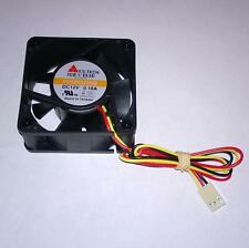 Case fan black 60mm molex and 3 pin connector UK seller