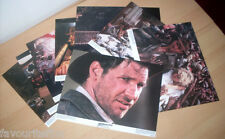 INDIANA JONES AND THE TEMPLE OF DOOM 1984: Set of 8 US Lobby Cards