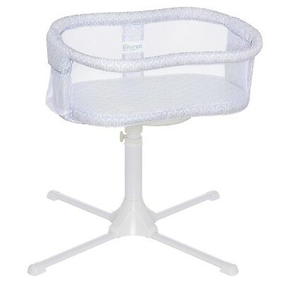 HALO Bassinest Essentia Series Swivel Sleeper Bassinet Infant Baby Crib Gray NEW