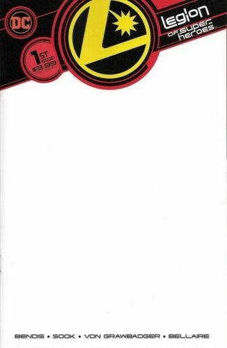 8 #1 Choice of Cover A B C or D or Promo Gold Ring Legion of Super-Heroes Vol