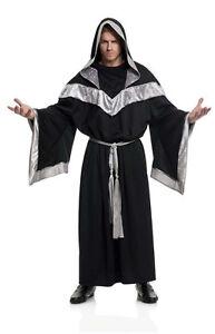 Medieval Clergy Clothing ADULT EVIL SORCERER ME...