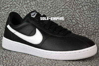7ccb8a094b7a Nike Bruin QS 842956-001 Black White 70 s Classic Retro Leather NEW IN BOX  DS