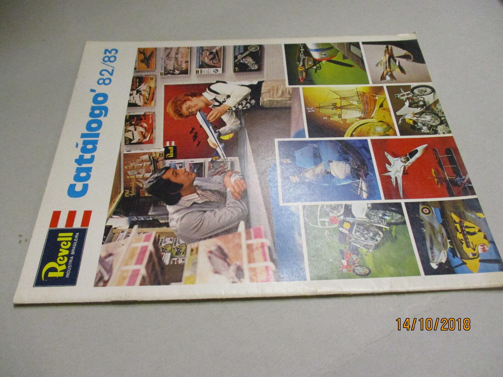 Revell Modèle Kits catalogue 1982 83 Brésil