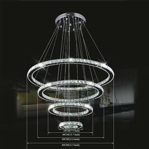 Modern luxury diy crystal chandelier pendant light ceiling for Diy led chandelier