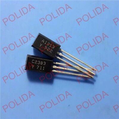 5pairs OR 10PCS TOSHIBA TO-92L 2SA1013-O//2SC2383-O 2SA1013//2SC2383 A1013//C2383
