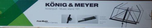 Notenständer Music Stand König /& Meyer 101 Germany