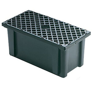 Calpump pump filter box fb pw protects small pond for Outside pond filter