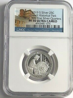 2019 S Silver Proof LOWELL PARK .999