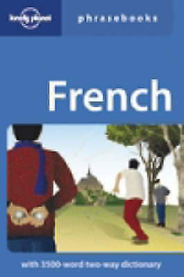 """""""AS NEW"""" Janes, Michael, French (Lonely Planet Phrasebook), Paperback Book"""