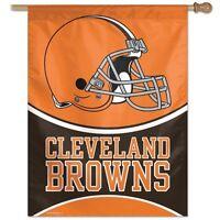 Cleveland Browns Wincraft Nfl 27x37 Banner/vertical Flag Free Ship,brand