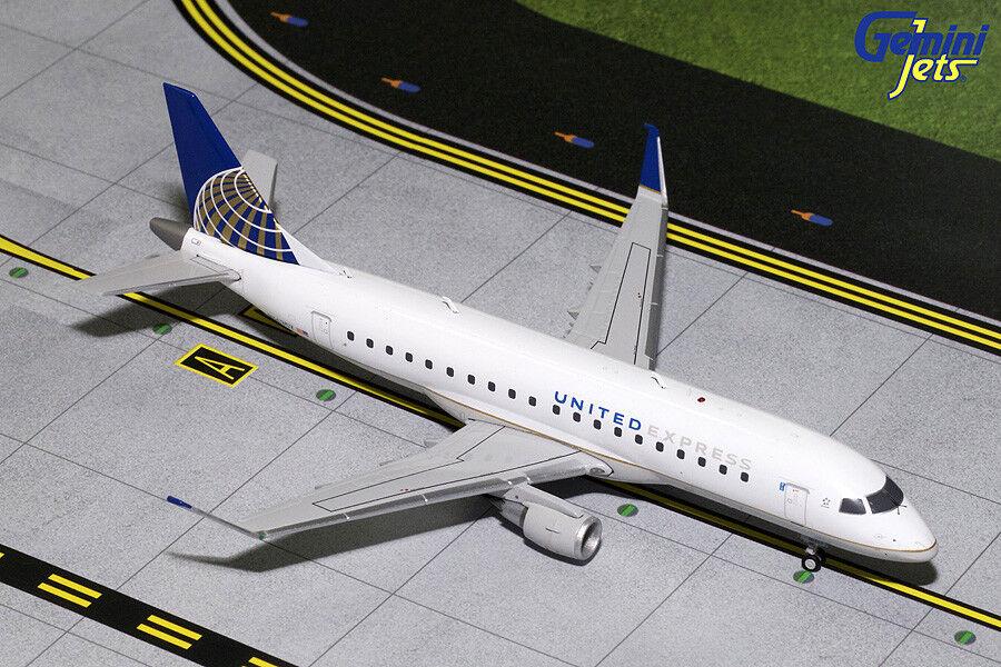 United Express Embraer E-175 N163SY Gemini Jets G2UAL716 escala 1 200