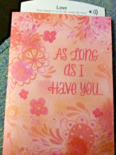 "Musical LOVE CARD for GIRLFRIEND-BOYFRIEND /""HOW SWEET IT IS/"" by Marvin Gaye Soun"