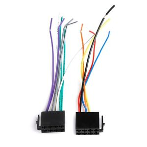 antenna for radio, power cords for radio, power supply for radio, on universal wire harness for radios