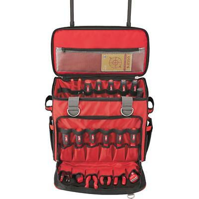 Milwaukee Jobsite Rolling Tool Bag Storage 18 In Extendable Handle Wheels New Ebay