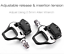 ROCKBROS SPD-SL Cycling Road Bike Bicycle Clipless Pedals Ultralight CR-MO Axle