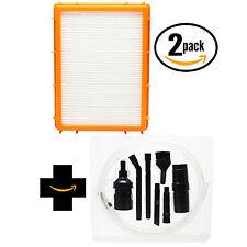 2x Vacuum Filter for Eureka Boss SmartVac 4870MZ, 61111, 4885B w/ Micro Kit