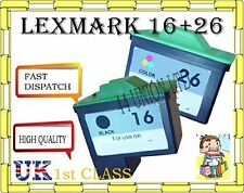 2 ink cartridges for Lexmark 16 lexmark 26  lexmark non original
