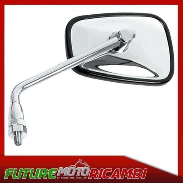 Accurato Specchio Retrovisore Sinistro Kawasaki En 500 1992-2000 Mirror Left Alleviare I Reumatismi