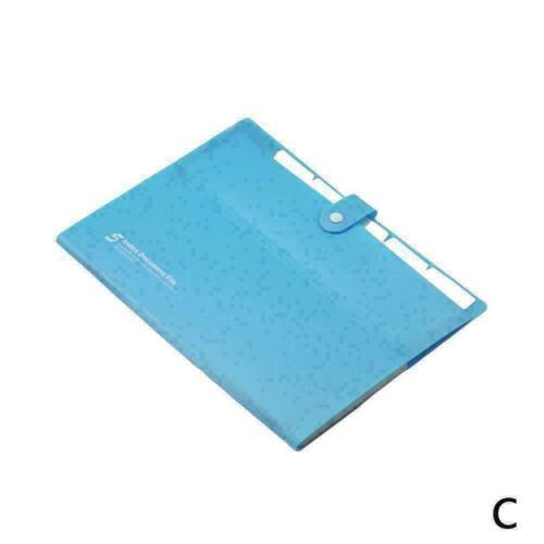 Kunststoff Schulordner Fall Papier Organizer Dateiordner Dokumententasche O F1W7