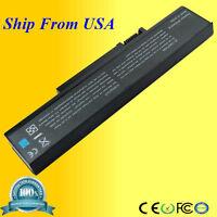 Battery For Gateway Squ-715 Squ-720 W35044lb W35044lb-sp W35052lb 6 Cells