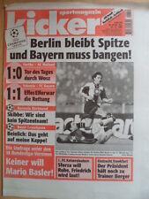 KICKER 85 - 21.10. 1999 Valencia-Bayern 1:1 Hertha BSC-AC Mailand 1:0 D.Wosz
