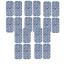20x-TENS-Gerat-Elektroden-Pads-10x5cm-f-SANITAS-SEM-Beurer-Vitacontrol-Sparpack miniatuur 1