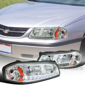 Image Is Loading 2000 2005 Chevy Impala Replacement Chrome Smd Led