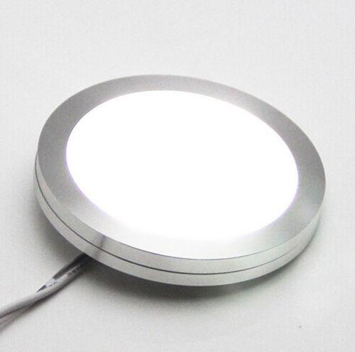 AIBOO Dimmable LED Under Cabinet Lighting,Kitchen Light 8x2w 12V LED Puck Lights