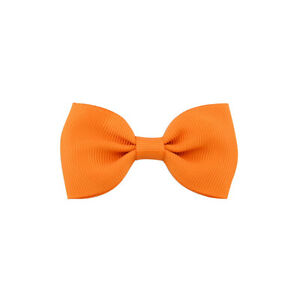 Girls-Colorful-Bowknot-Hairpin-Kids-Baby-Hair-Bow-Clip-Hair-Accessories-Orange