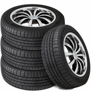 4 Goodyear Assurance All-Season 205/55R16 91H 600AB 65k mi Warranty Durable Tire