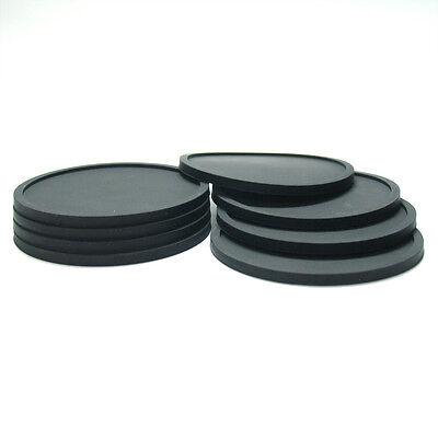 Unido Box Silicone Coaster Set of 8 Dishwasher Safe Party Heavy Duty Multi-Use