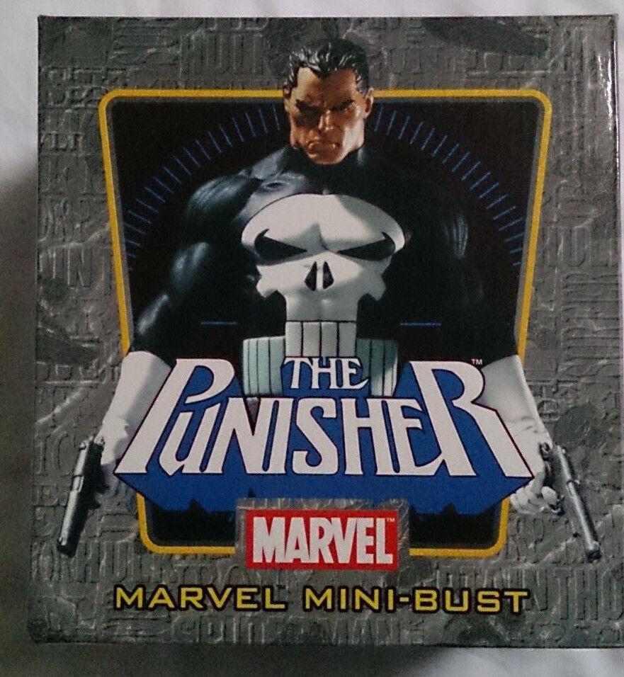Marvel Comics Bowen PUNITORE mini busto/statua con scatola in buonissima condizione