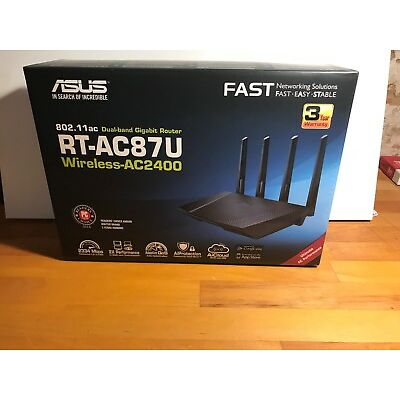Asus RT-AC87U AC2400 Black Diamond Dual-Band Router