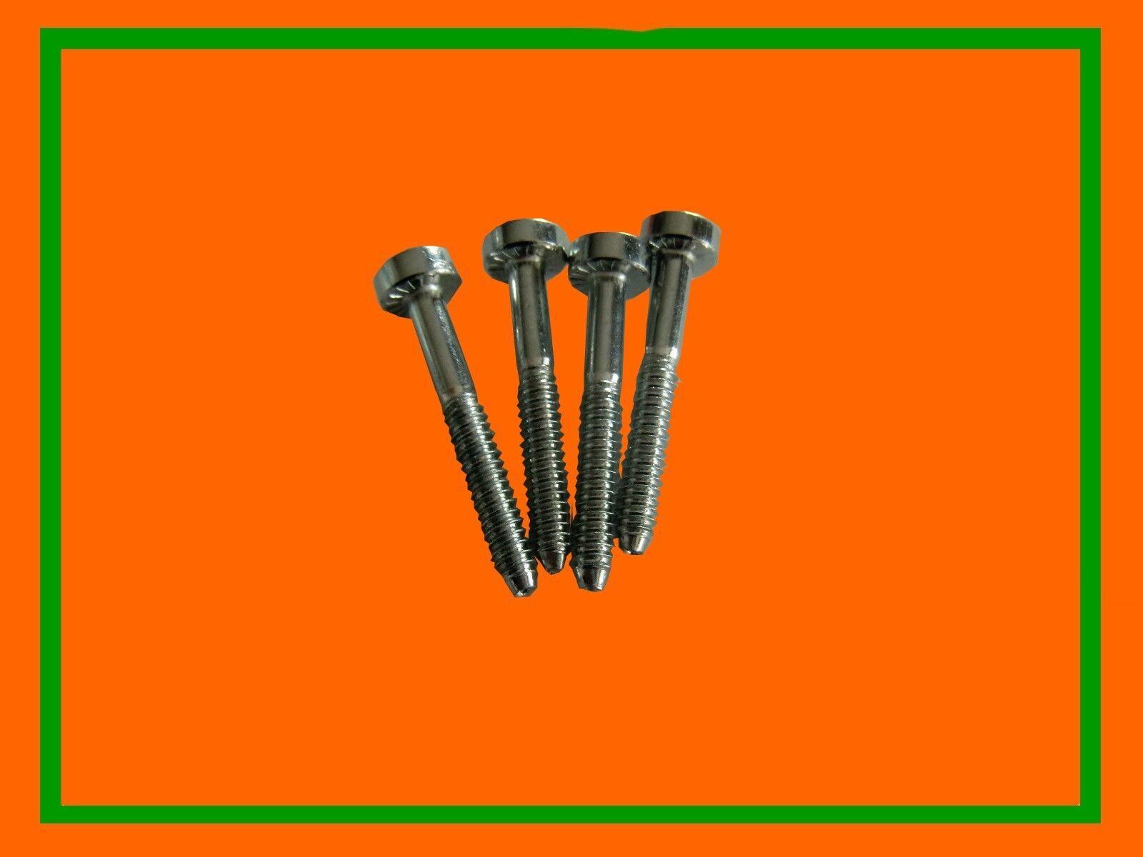 4x Schraube Schrauben Zylinder Zylinderfuß STIHL 021 023 025 MS 210 230 250 171