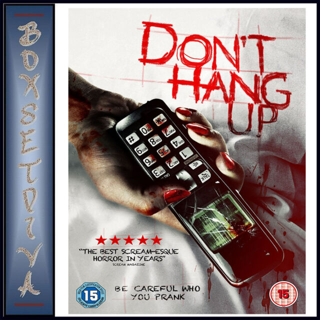 DON'T HANG UP -  Sienna Guillory & Gregg Sulkin   *** BRAND NEW DVD***