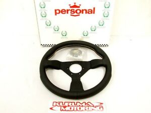 PERSONAL-330-STEERING-WHEEL-GRINTA-LEATHER-YELLOWSTITCH