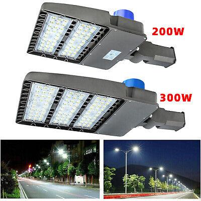 LED Pole Light 300w Dusk To Dawn Module Street fixture Parking Lot Area Light