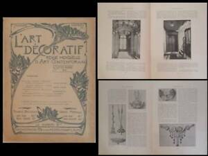 2019 Nouveau Style L'art Decoratif 1901 Levy-dhurmer, Armand Point, Paris, 7-9 Boulevard Du Temple