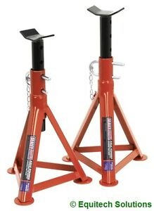 Sealey-Tools-AS2500-2-5-Ton-Each-5T-Pair-Axle-Stands-505mm-High-Car-Van-New