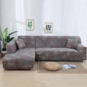 Surprising Details About L Shape Stretch Sectional Corner Sofa Cover Couch Slipcover 74 90 74 90 Frankydiablos Diy Chair Ideas Frankydiabloscom