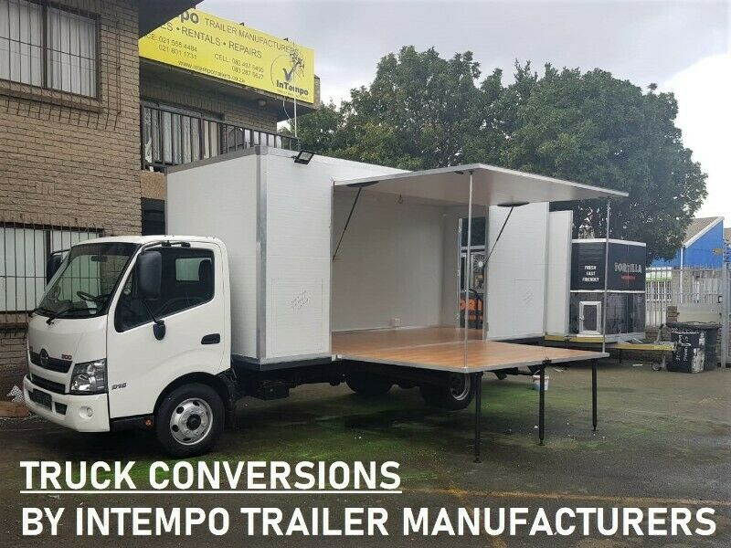 STAGE TRAILERS - Mobile Activations - Best Quality