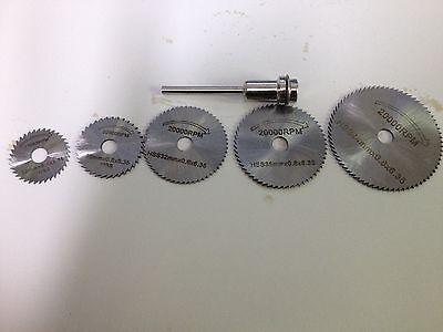 HSS Saw Blades,Rotary Tool Circular Saw Blade ,Mandrel fit Dremel Cutoff
